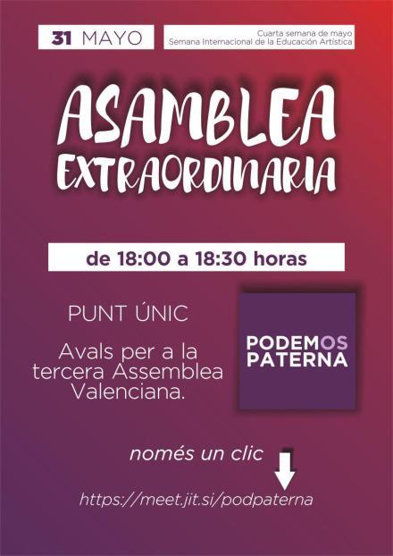 Cartel Asamblea 200531