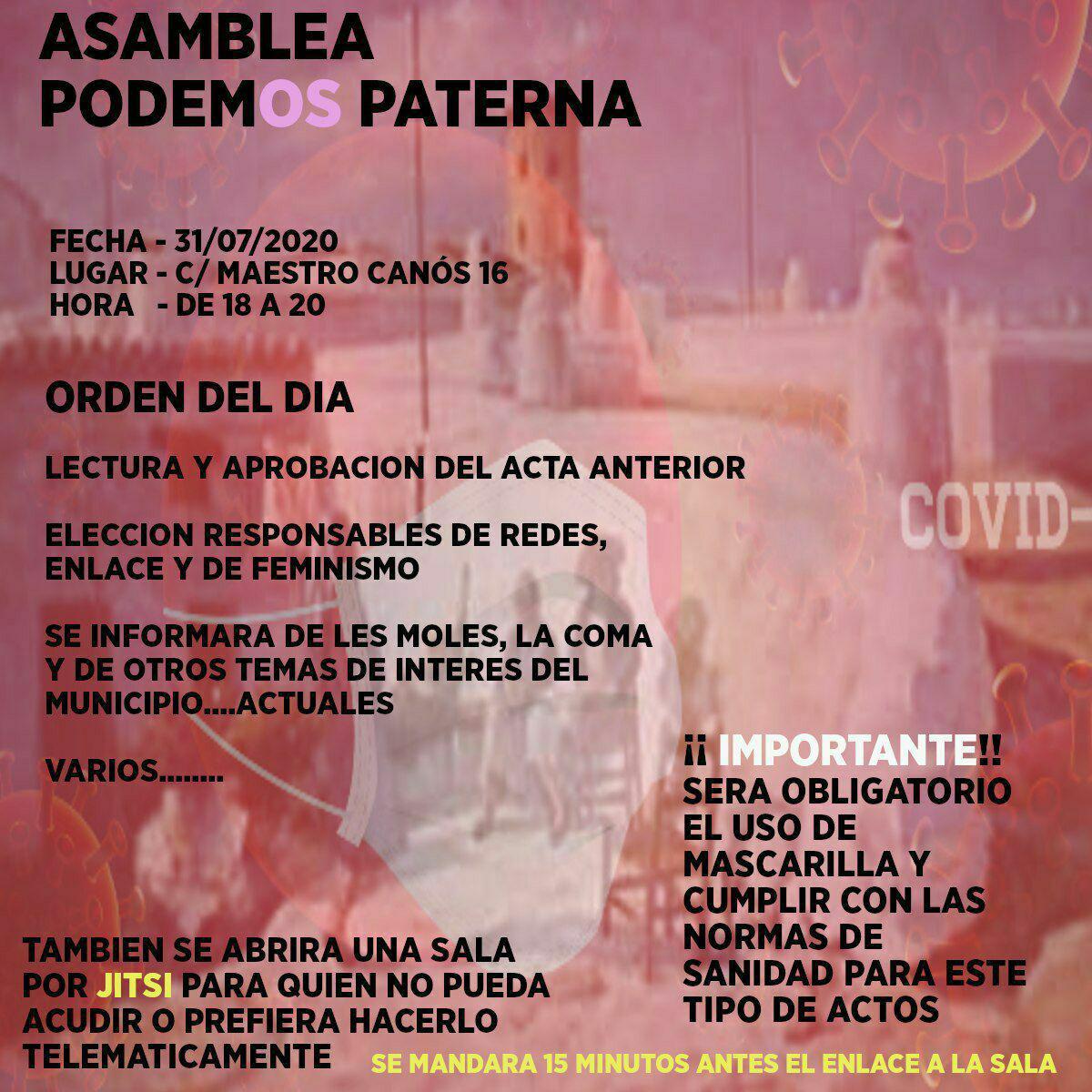 Cartel Asamblea 200731